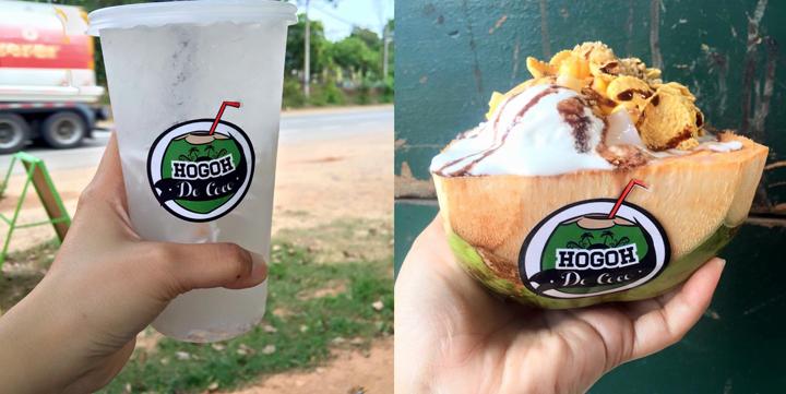 Rahsia bisnes jual air kelapa Hogoh De Coco