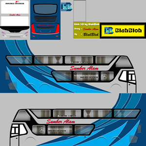 Livery Bussid Sumber Alam SDD