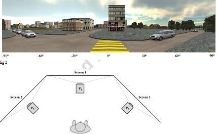図:VR交差点