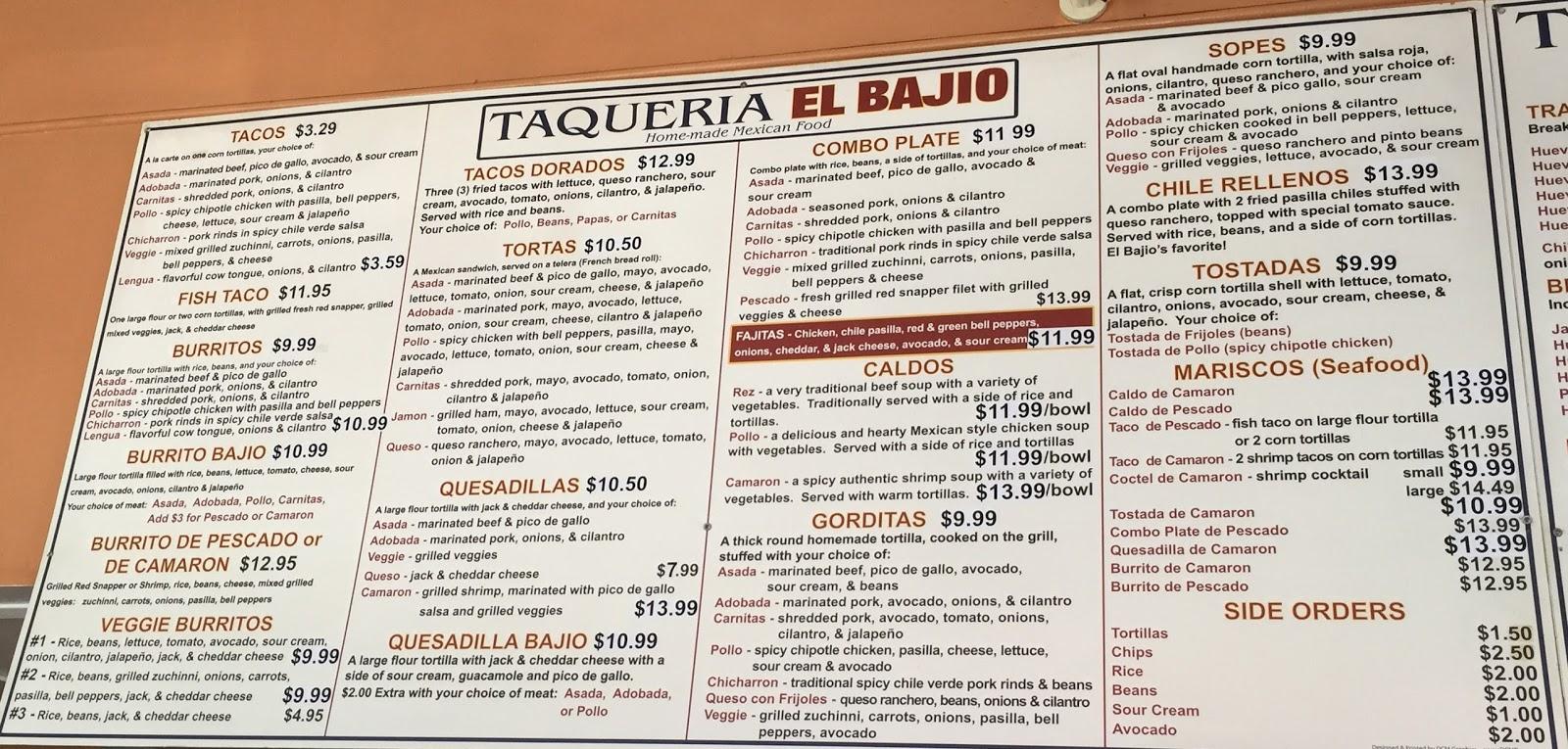 TASTE OF HAWAII: TAQUERIA EL BAJIO - SANTA BARBARA, CALIFORNIA