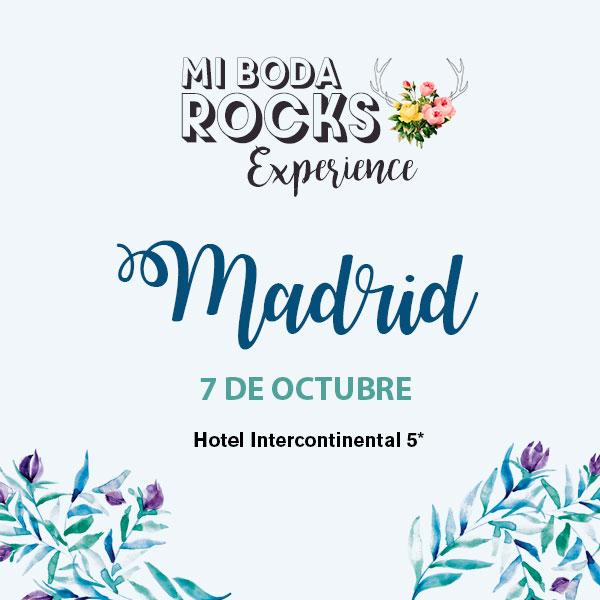 Mi Boda Rocks Experience Madrid 7 octubre 2018