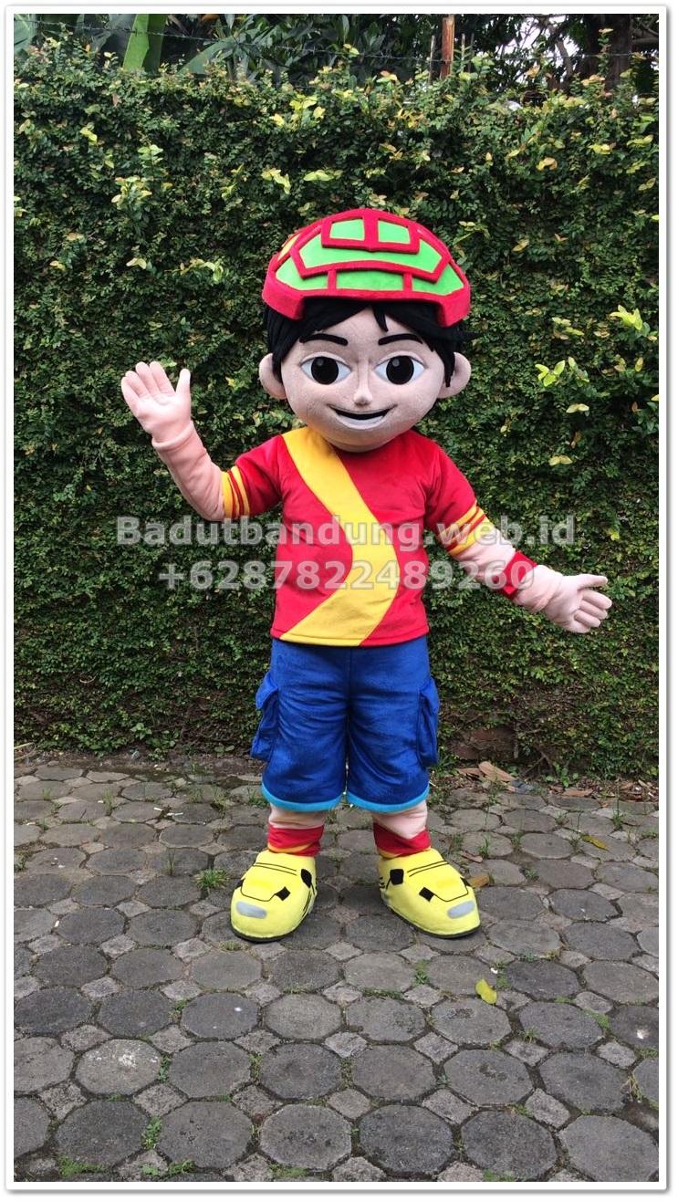 gambar kostum badut shiva karakter harga maskot
