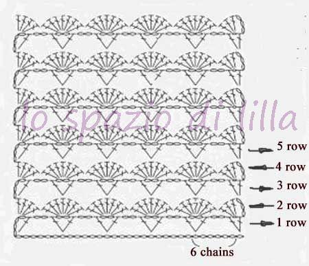 lo spazio di lilla: Punti crochet e ai ferri, perfetti