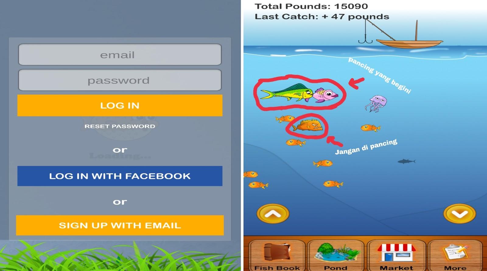 Main Game Mancing Ikan Dapat Uang Mata Kalong