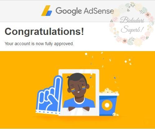 Google Adsense Akhirnya Terima Lamaranku.