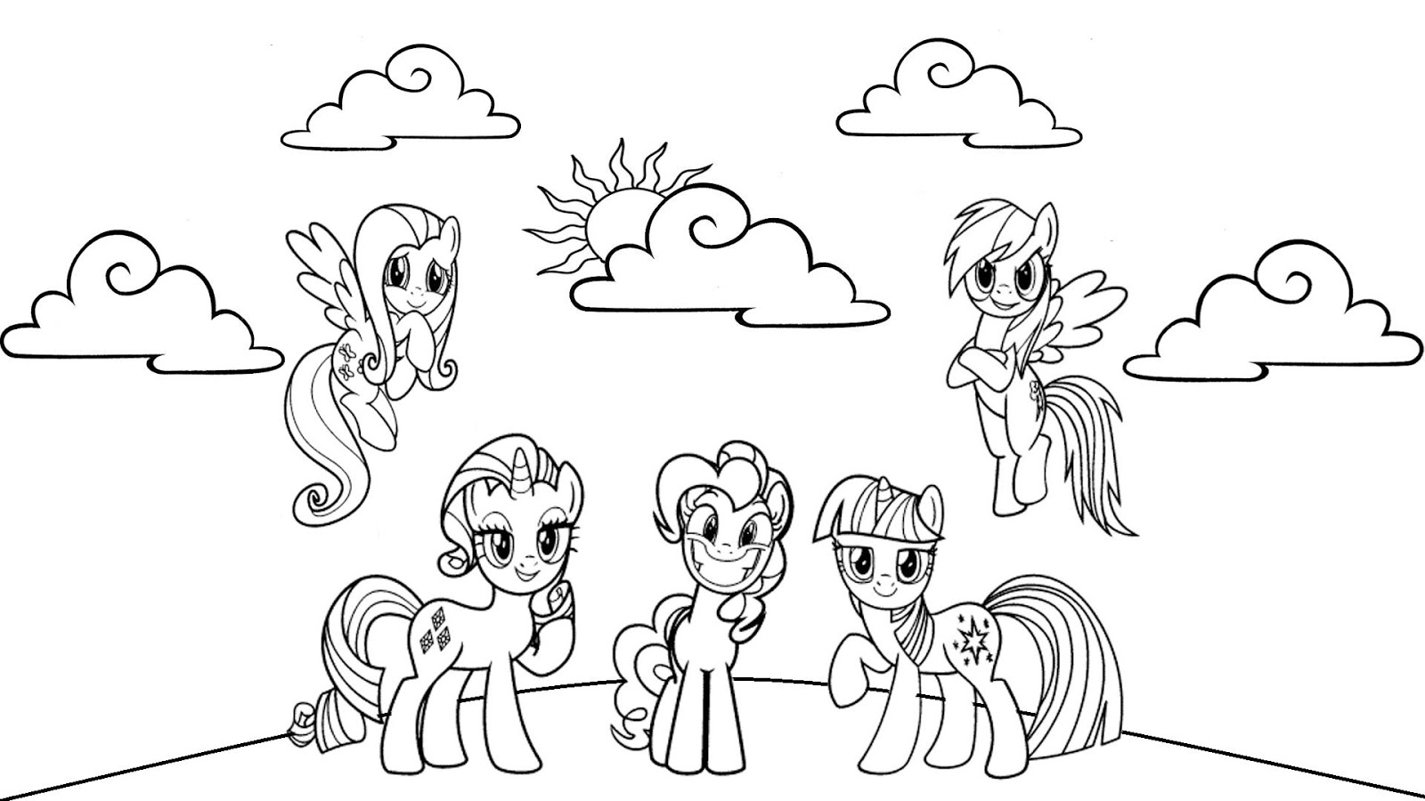 my little pnoy mlp princess celestia coloring pages magic