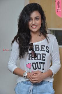 Cute Actress Misti Chakravarthi at Babu Baga Busy Team at Radio City ~  Exclusive 8th April 2017 005.JPG