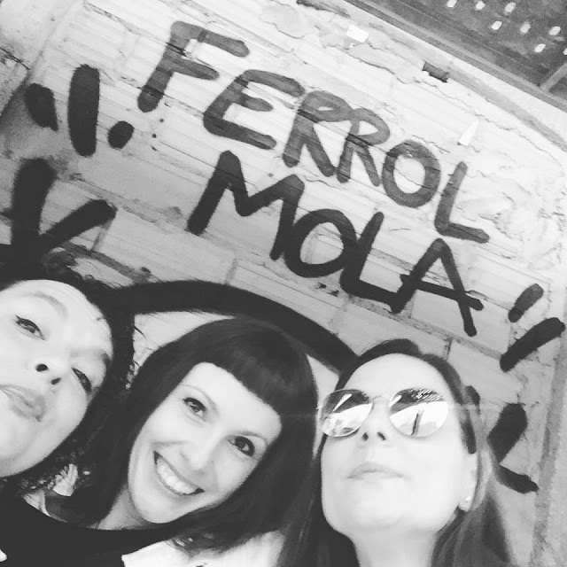 selfie con ferrol mola