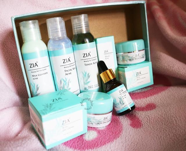 Zia Skin Care (For Acne Prone Series)