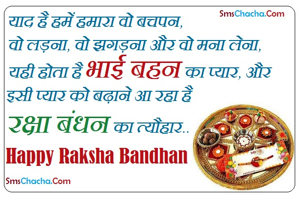 Happy Rakhi Message