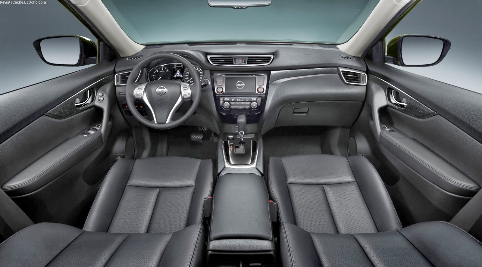 nissan x trail 2015 interiores autos weblog. Black Bedroom Furniture Sets. Home Design Ideas