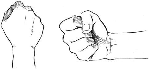 Como dibujar una mano (manual) manos real anime
