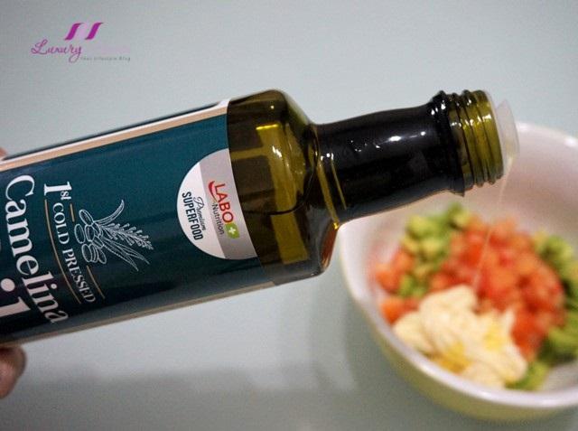 healthy lifestream labo camelina oil salad recipe