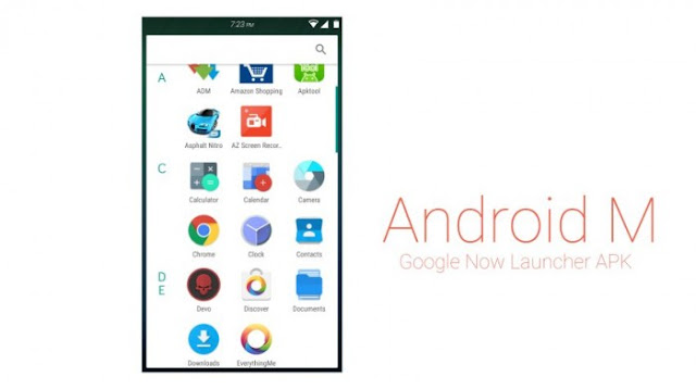Android M Launcher