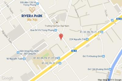 Tuyến đường Vũ Trọng Phụng tác động đến dự án Rivera Park ?