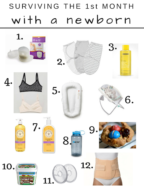 Newborn Essentials - What Worked & What Didn't | a-traveling-wife | www.atravelingwife.com