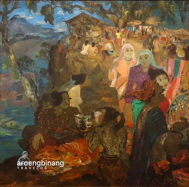pasar hendra gunawan museum macan modern and contemporary art in nusantara jakarta barat
