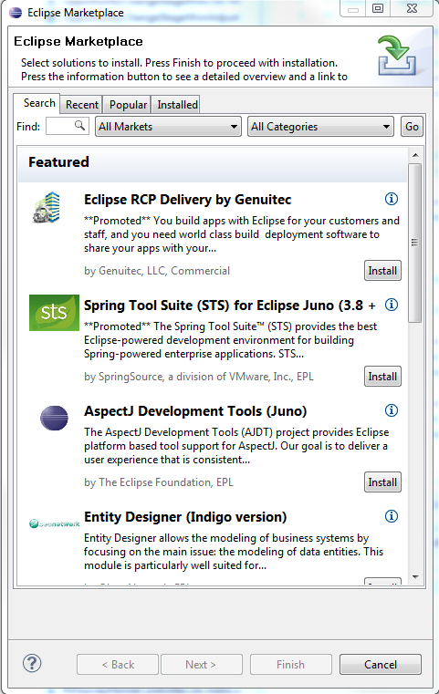 How to install Eclipse MarketPlace on Eclipse Helios - Oyecode