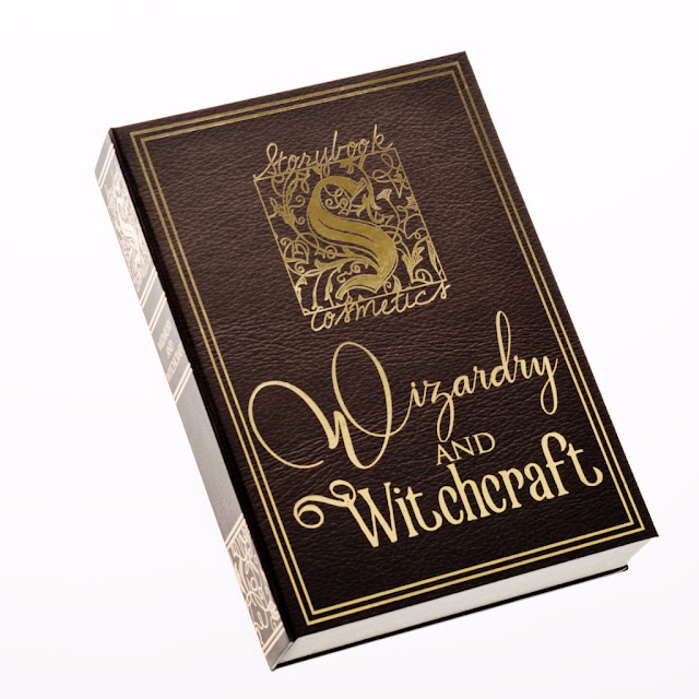 Authentic Storybook Cosmetics Wizardry and Witchcraft Eyeshadow Palette Storybook