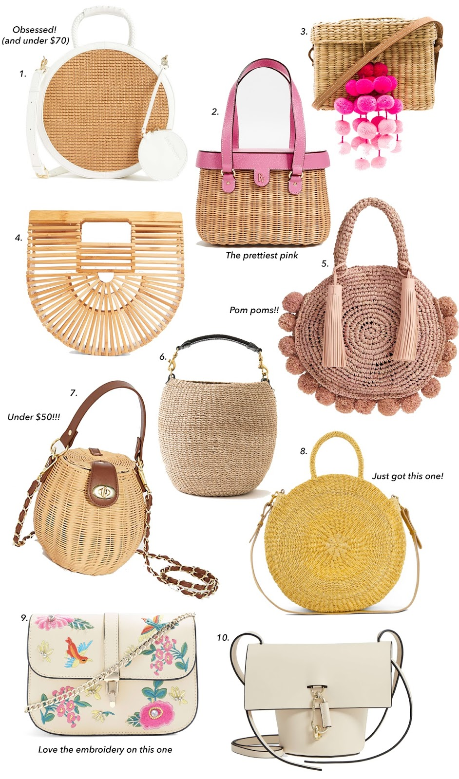 Twenty Bags for Spring - Something Delightful Blog