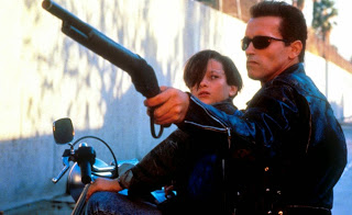 Terminator 2 Judgment Day Arnold Schwarzenegger Edward Furlong 1991