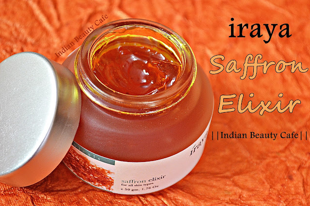 Iraya Saffron Elixir Review, Swatch, Price, Buy Online India
