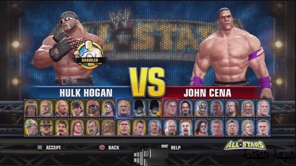 تحميل لعبة WWE All Star للاندرويد  بحجم 100Mb على محاكي PSP