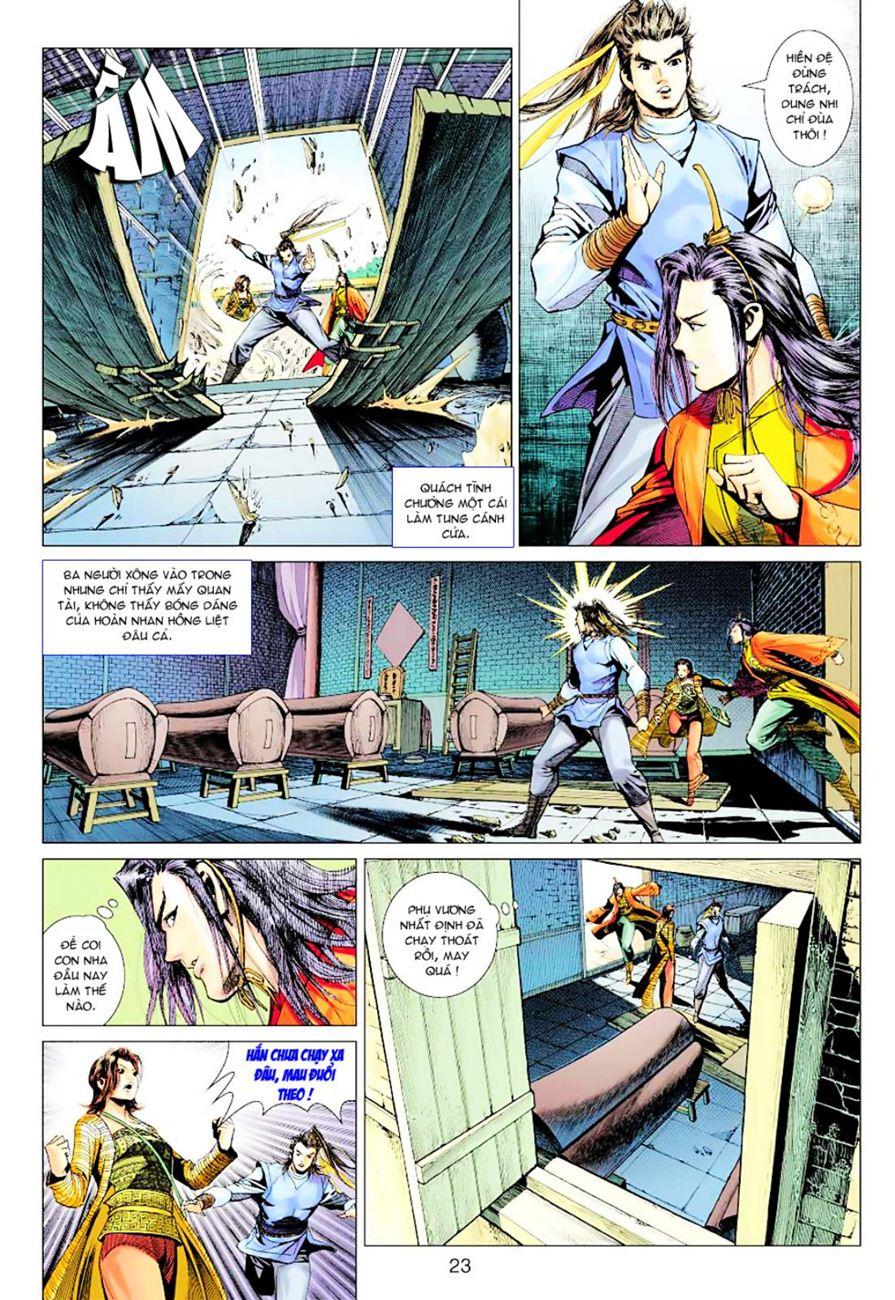 Anh Hùng Xạ Điêu anh hùng xạ đêu chap 38 trang 22