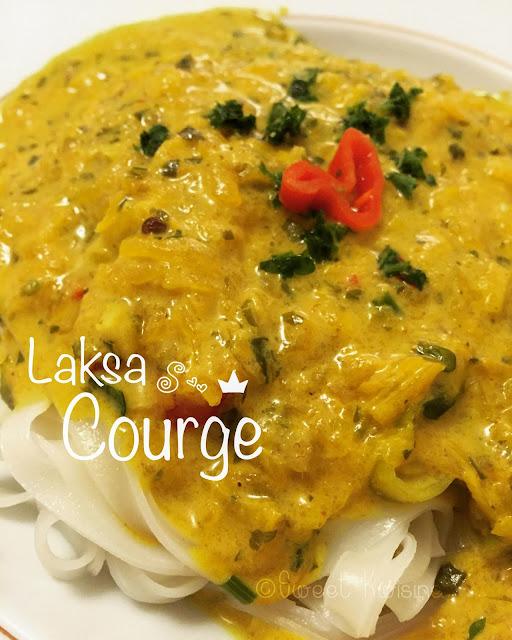sweet kwisine, courge, laksa, soupe, curry, nouilles, cuisine malaisienne, jamie oliver, végétarien