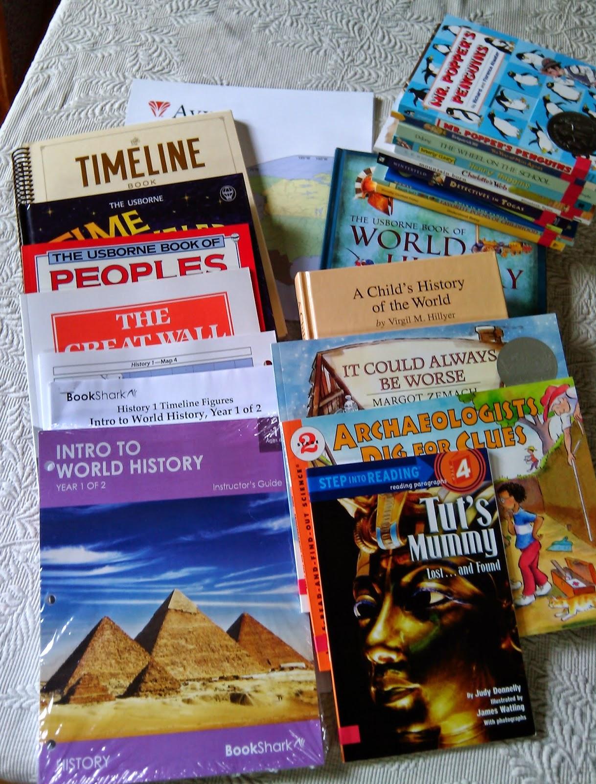 bookshark alouds gr read history