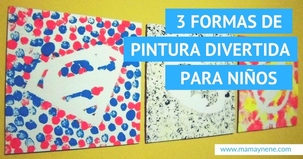 PINTURA-ARTE-KIDS-NIÑOS-MAMAYNENE-PREESCOLAR-KINDER