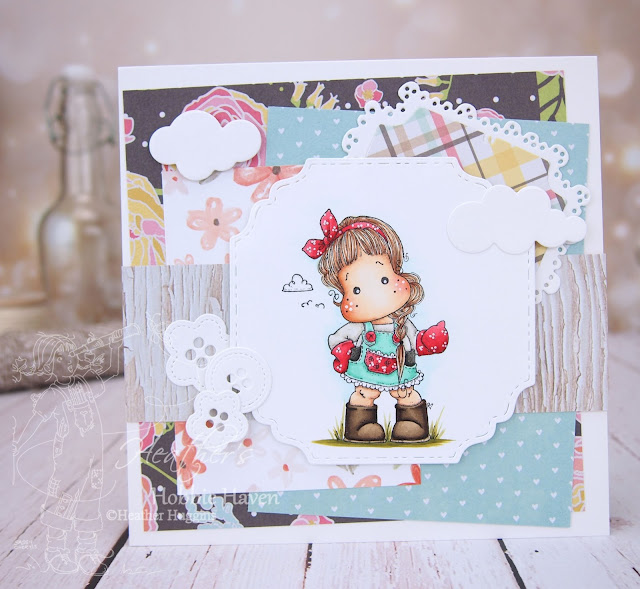 Heather's Hobbie Haven - Tilda Working in the Garden Card Kit