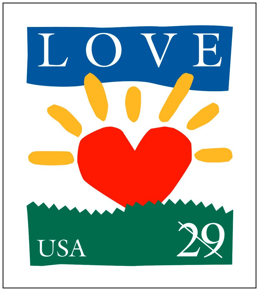 365 Letters Love Stamps