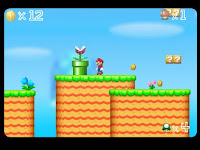 Here is Mario's Adventure 2! The #FlashGame version of the #NintendoDS version!