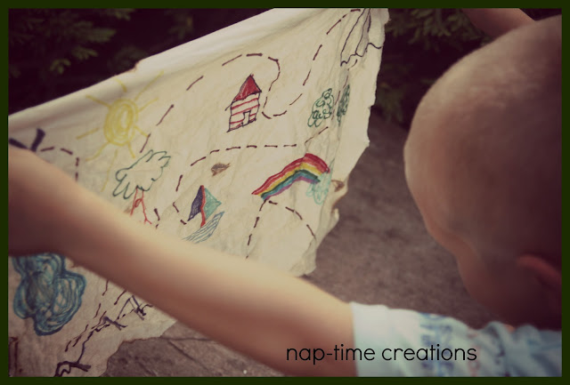 easy treasure map