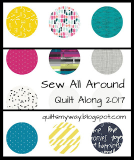 """Sew All Around"" Quilt Along 2017"
