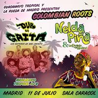 Colmbian Roots: Dub de Gaita y Nelda Piña en Sala Carol