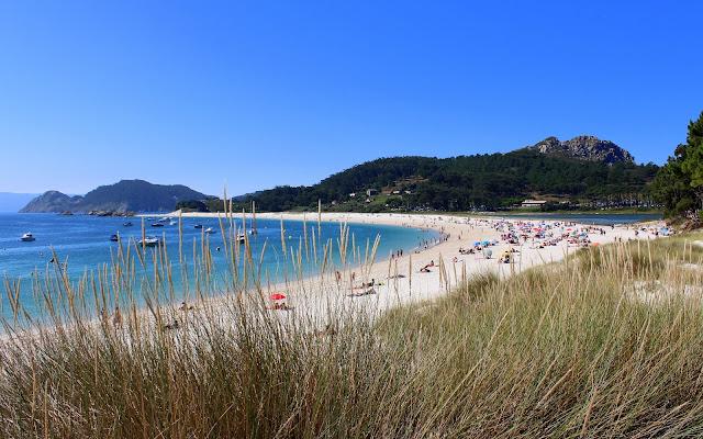 Playa de Rodas. Islas Cies