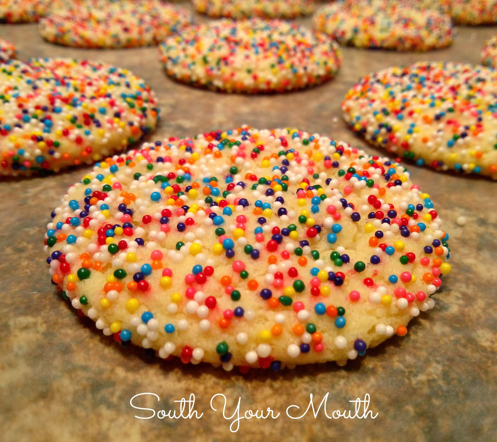 South Your Mouth Chewy Sugar Cookies