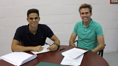 Francisco Rodríguez Gaitán firma por la  U.D Almería