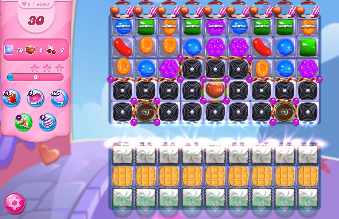 Candy Crush Saga level 5643