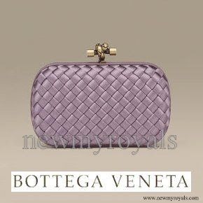 Crown Princess Victoria Style BOTTEGA VENETA Clutch