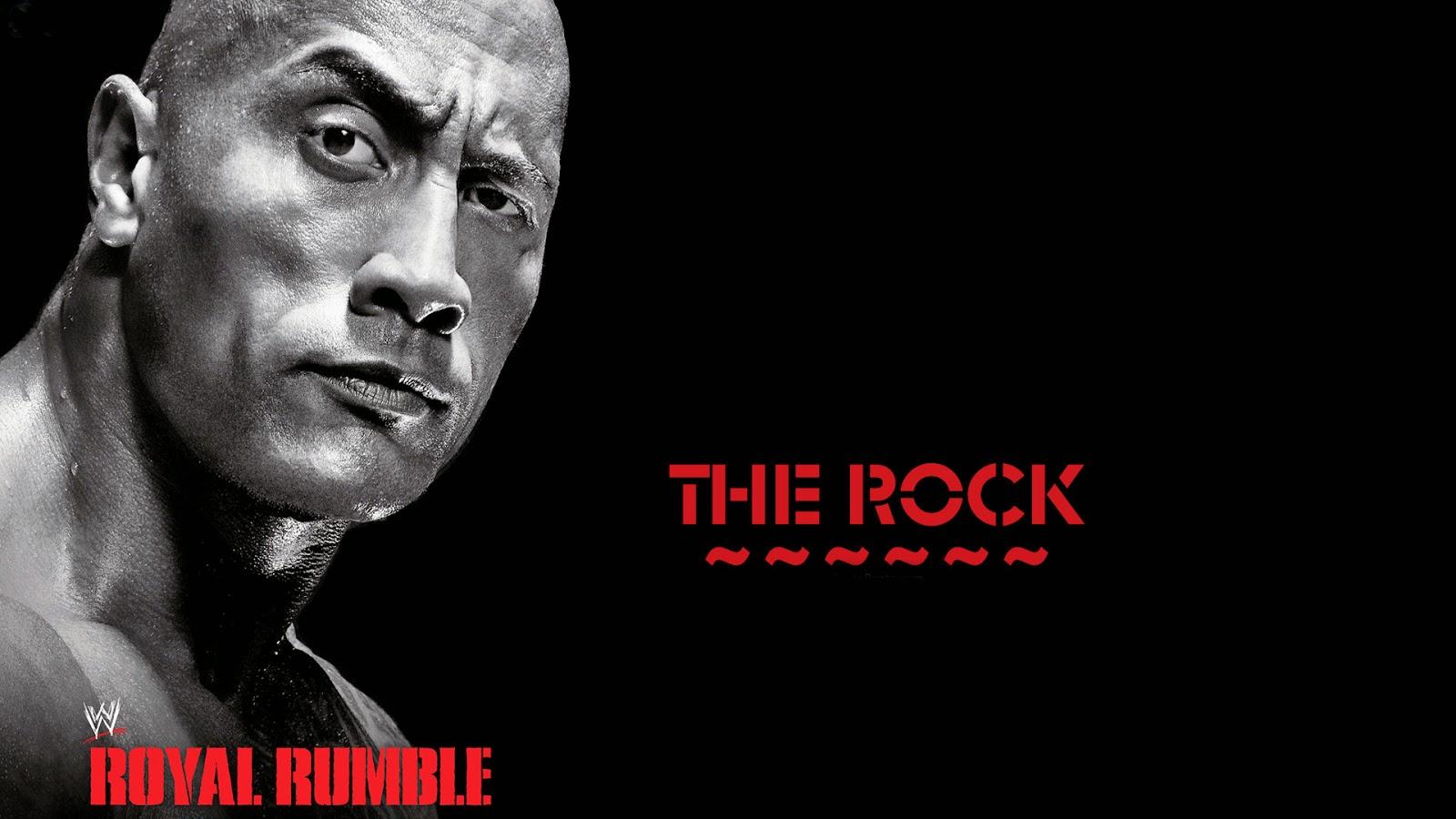 The Rock WWE Latest Beautiful HD Wallpaper 2014-15
