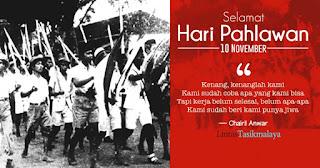 Gambar DP BBM Selamat Hari Pahlawan 10 November