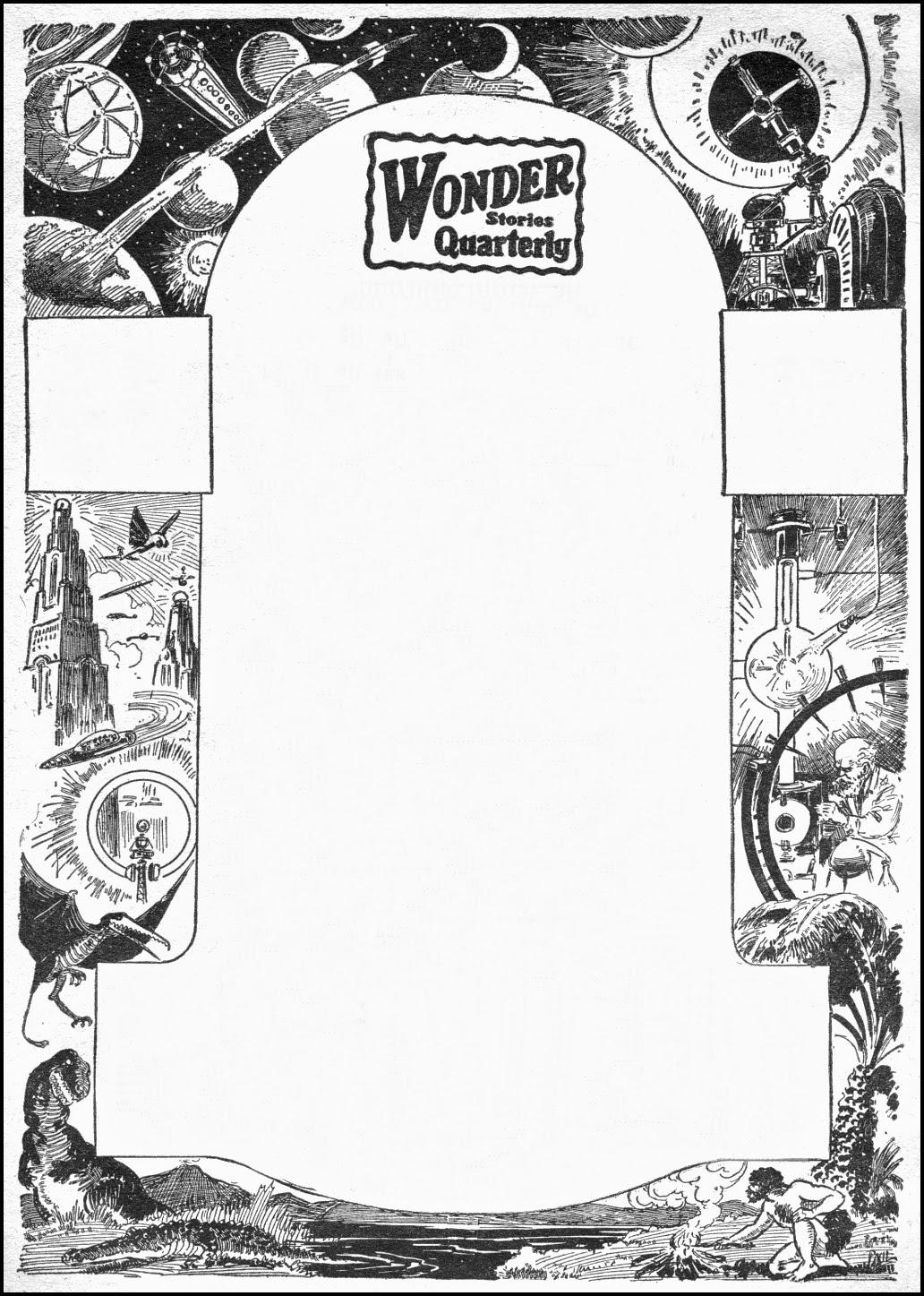 Frank R  Paul ~ Science Wonder & Wonder Stories Quarterly 1929-1933