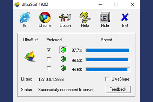 ultrasurf pc windows