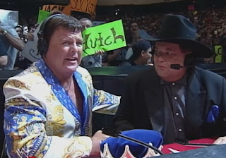 WWE / WWF King of the Ring 1999 - Jerry 'The King' Lawler & Jim Ross