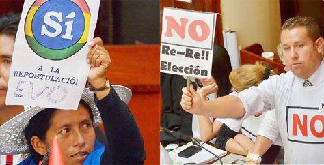 Comisión de UE: La reelección no es derecho humano