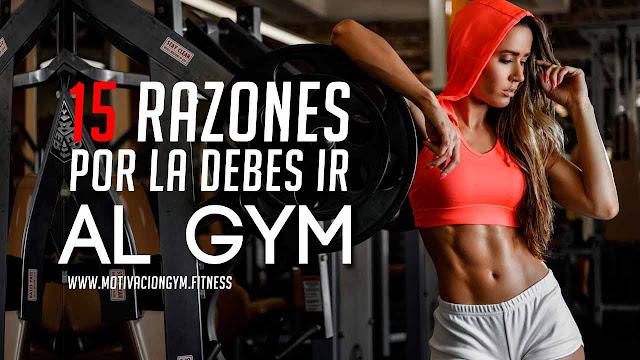 razones para ir al gym
