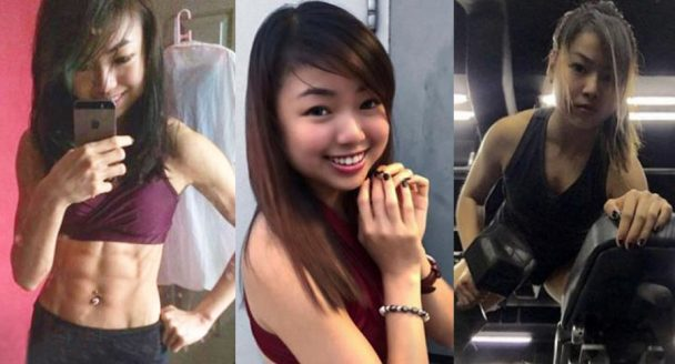 Girl Developed A Strange Eating Disorder And Fitness Obsession Until Her Body Is Only Left With 4% Fat!